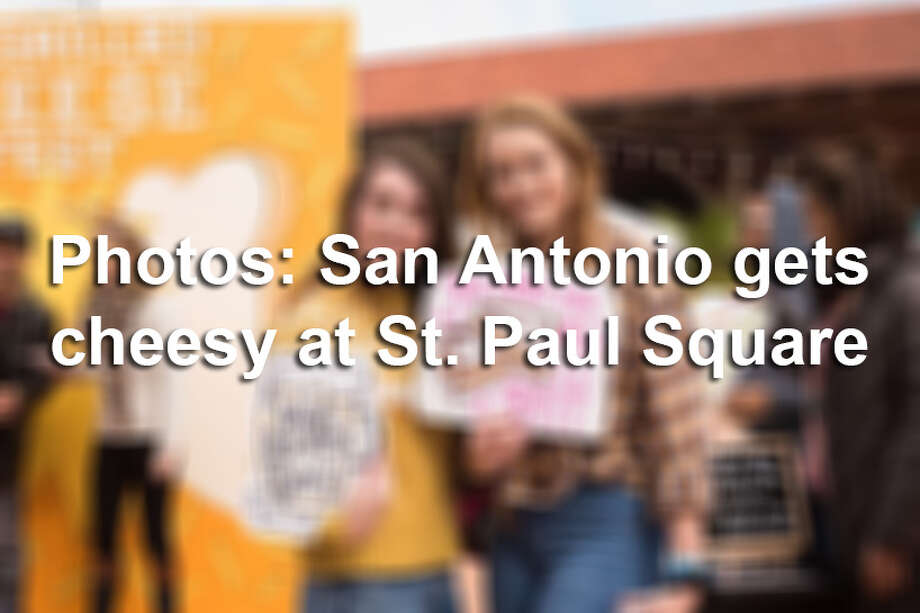 San Antonio got to taste different versions of their favorite snack at the Grilled Cheese Festival on Saturday, Nov. 10, 2018, at St. Paul Square. Photo:  Aiessa Ammeter For MySA.com