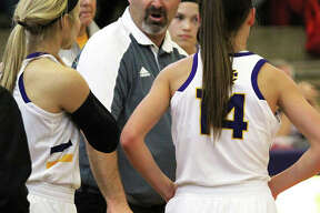 CM coach Jonathan Denney is the 2018-19 Telegraph Large-Schools Girls Basketball Coach of the Year. The Eagles' 29-6 season pushed Denney's career record to 286-118 in 13 years at CM.