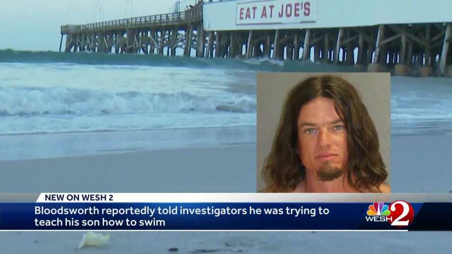 A Florida man accused of throwing his 5-year-old son into the ocean has posted bond and was released from jail Tuesday.
