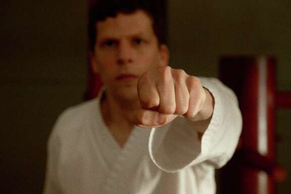 "Jesse Eisenberg stars in writer-director Riley Stearns's ""The Art of Self-Defense."" MUST CREDIT: Bleecker Street"