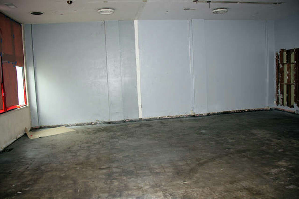 Shots of the interior of the former Intelligencer building on North Second Street. For more photos, see page B2.