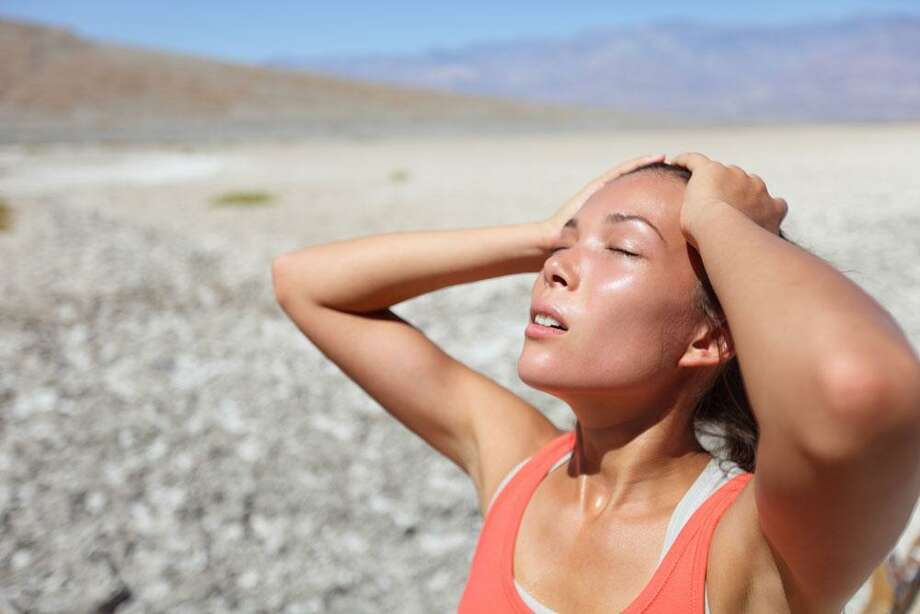 During a heat wave, precautions should be taken to prevent heatstroke. Photo: Contributed Photo / Bigstock®