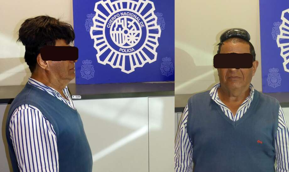 The Spanish national police tweeted photos of the suspect, a 65-year-old man, Tuesday. Photo: National Police/Twitter
