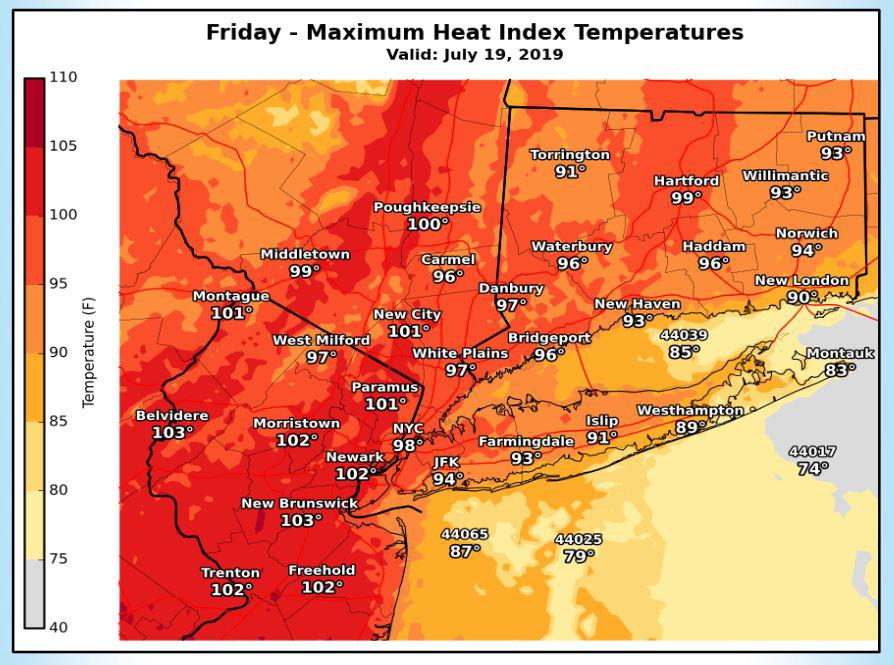 Before heat wave, T-storms and showers moving in