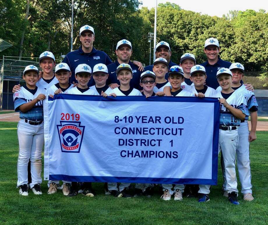The Wilton Little League 10U All-Stars won the District 1 title by beating Darien, 5-4, on Friday. Wilton plays in the state sectionals this week. Photo: Contributed Photo / Wilton Little League