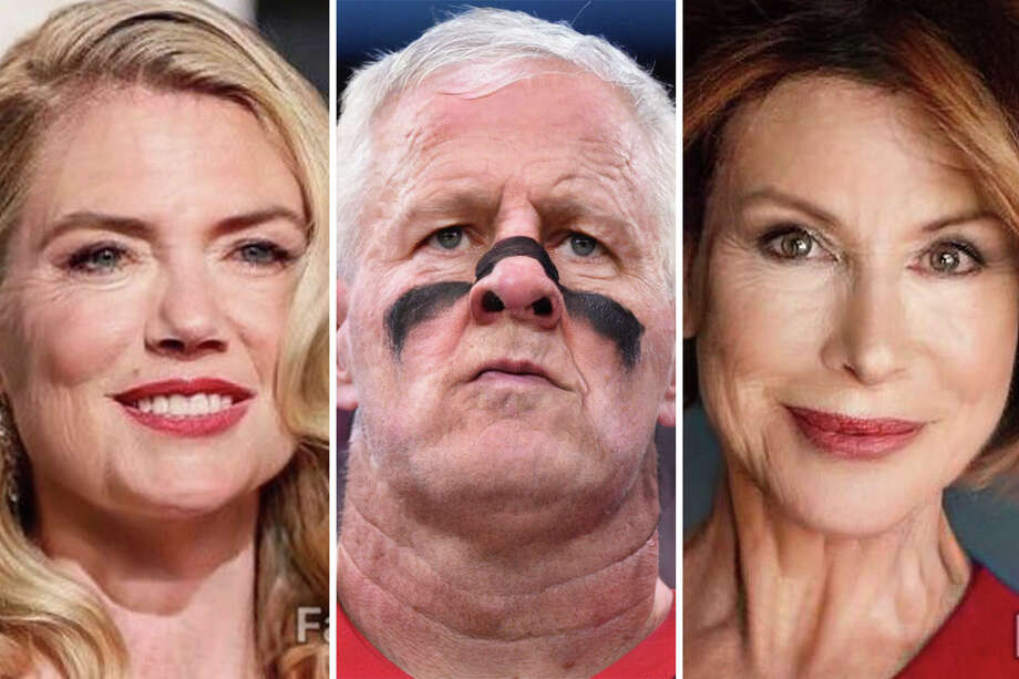 >> Click through the following gallery to see Houston's most recognizable faces in their old age, through FaceApp. Photo: FaceApp/Houston Chronicle