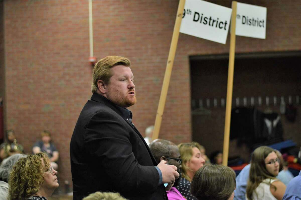 Councilman Brad Macdowall, D-9, is running for an at-large position on the council. He was endorsed by the Hamden Democratic Town Committee at the nominating convention Tuesday July 16, 2019
