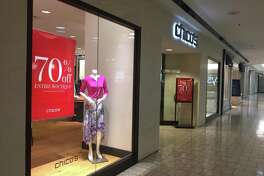 Women's clothing retailer Chico's plans to close on July 23, 2019 its store at the Stamford Town Center mall.