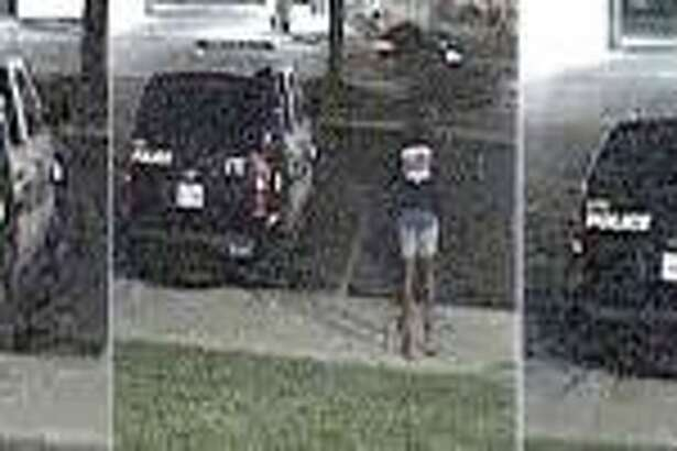 Crime stoppers is offering a reward for the identification of a arsonist that police say attempted to set a patrol car on fire in the city's Eastside on July 5.