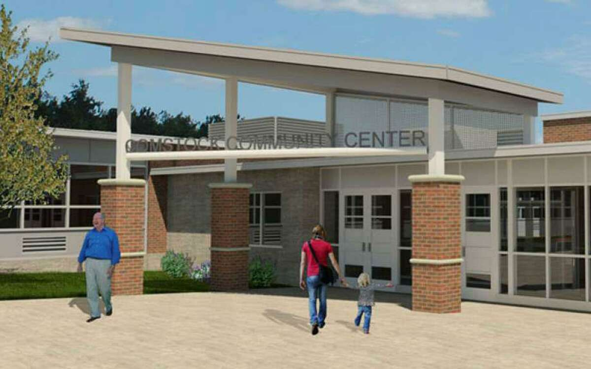 Pictured is people in a previous rendering of the Comstock Community Center in Wilton. Members of the Wilton Democratic Town Committee, (DTC,) are caucusing on Wednesday, July 21, at 7:30 p.m., to approve candidates for this fall's elections.