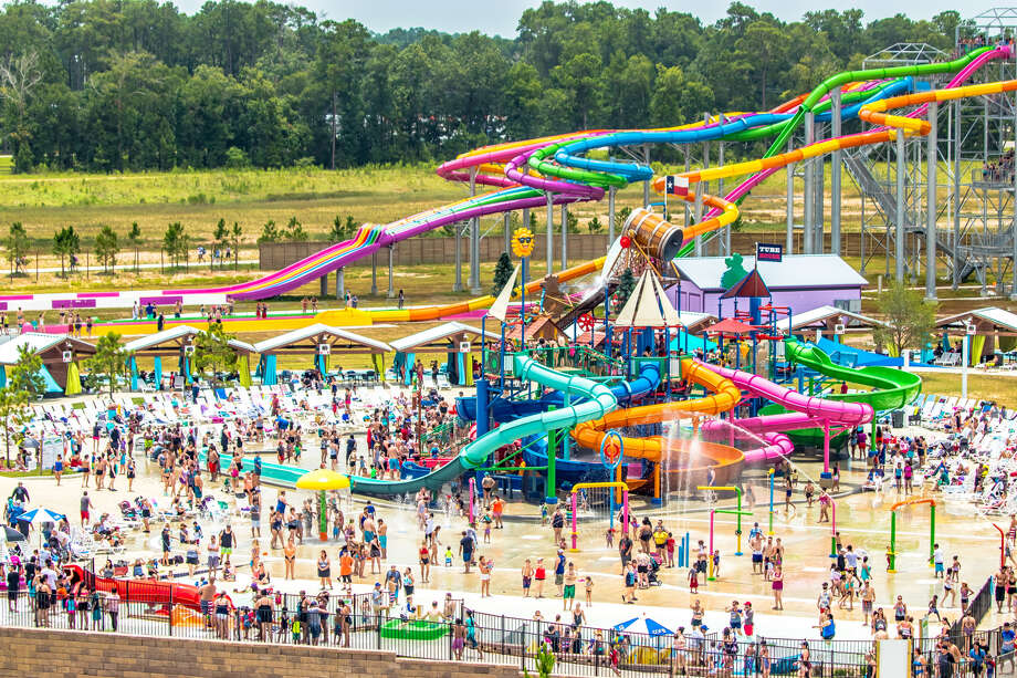 Splashway Water Park announced it will debut a brand new, dueling hybrid water coaster at the start of next week. The attraction is the first of its kind on the entire planet and will make its debut on Monday, July 15. Photo: Splashway Water Park