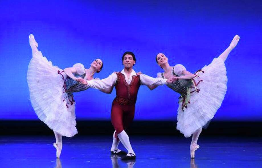 "Connecticut Ballet will be performing its free ""Ballet Under the Stars"" program at Stamford's Mill River Park July 26, a rescheduling of an original July 12 date that was postponed because of weather forecasts. Photo: Connecticut Ballet"