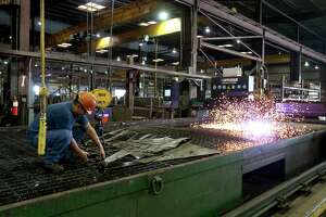 The outlook for manufacturing is a concern for the Houston and Texas economies.