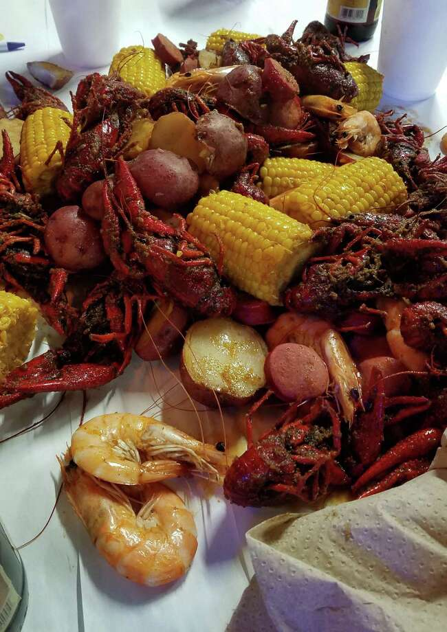 There is nothing better than a good meal of shrimp, crawfish, and all of the fixings, especially when you catch them yourself. Photo: Larry J. LeBlanc