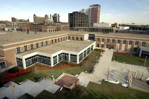 bridgeport-ag-12/19 Housatonic Community College in Bridgeport photographed on Friday 12/19/2003. Photo by Arnold Gold AG0066A