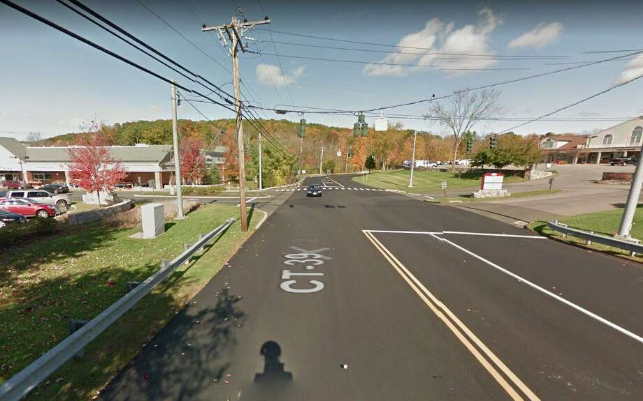 Route 39 near Stop & Shop in New Fairfield. Photo: Google Maps / Google