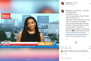 When KHOU 11 News reporter Janel Forte recently considered putting her hair in braids, she asked her news director, Sally Ramirez, with a bit of hesitation. Forte documented the exchange on her Instagram page.
