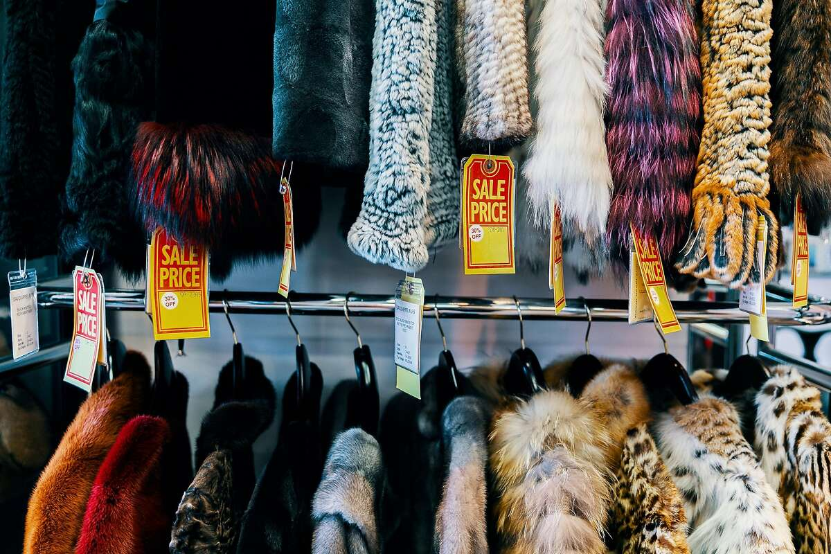 July 17, 2019 Beverly Hills: Furs of all kind line the walls of Beverly Hills fur retailer David Appel on July 17, 2019. California could be the first state in the country to ban the sale and manufacture of fur coats, stoles and other clothing and accessories under legislation that is close to approval at the state Capitol. Appel, has been in business since 1986 and fears he will lose his income and retirement security if the bill becomes law.