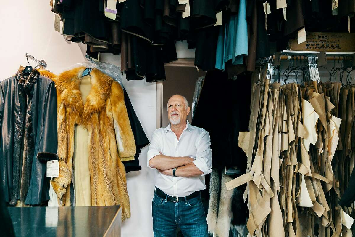 July 17, 2019 Beverly Hills: Beverly Hills fur retailer David Appel poses for a portrait at his retail store on July 17, 2019. California could be the first state in the country to ban the sale and manufacture of fur coats, stoles and other clothing and accessories under legislation that is close to approval at the state Capitol. Appel has been in business since 1986 and fears he will lose his income and retirement security if the bill becomes law.