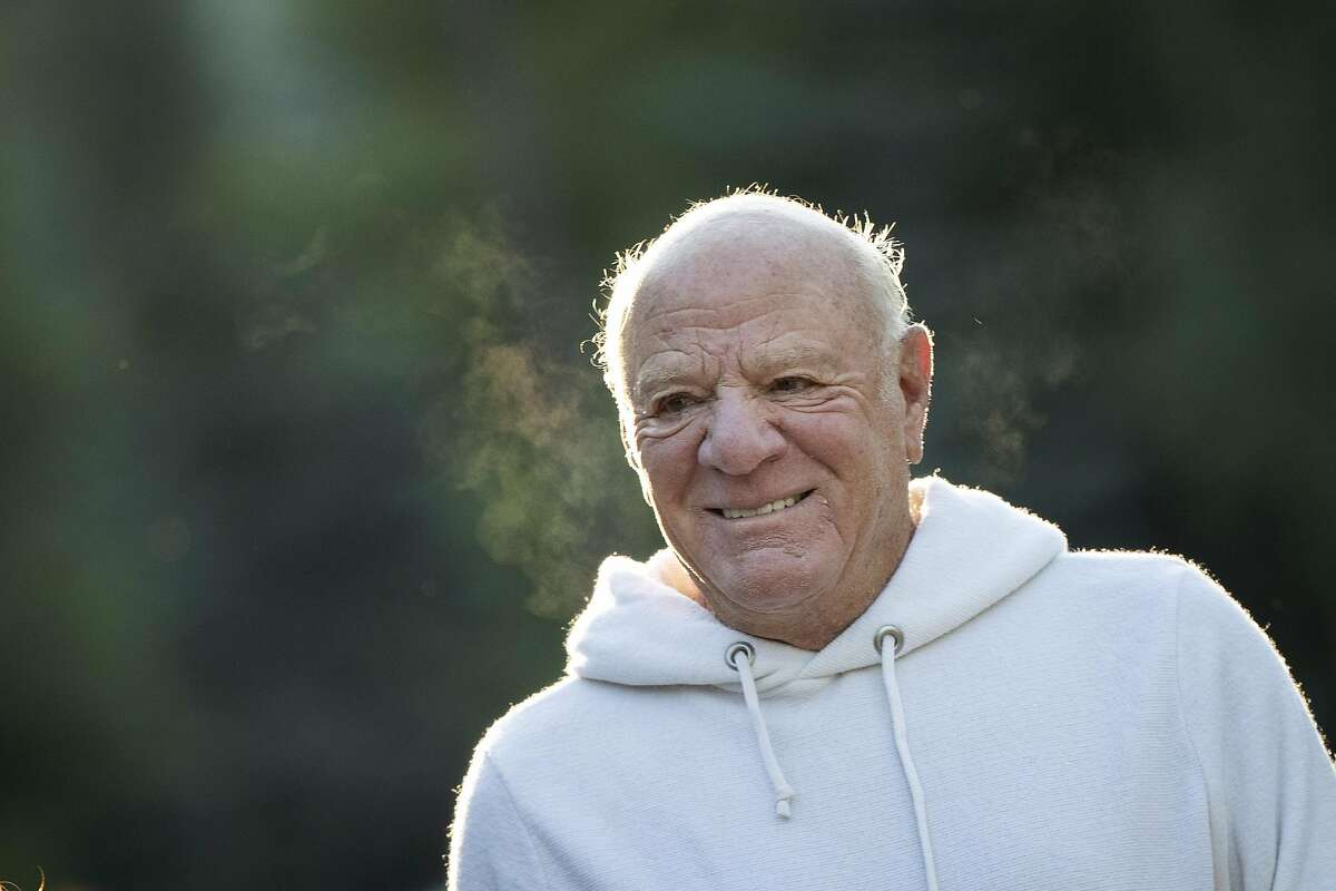 SUN VALLEY, ID - JULY 11: Barry Diller, chairman of IAC (InterActiveCorp), attends the annual Allen & Company Sun Valley Conference, July 11, 2019 in Sun Valley, Idaho. Every July, some of the world's most wealthy and powerful business people from the media, finance, and technology spheres converge at the Sun Valley Resort for the exclusive week long conference. (Photo by Drew Angerer/Getty Images)