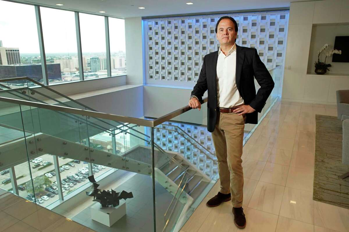 Javier Rodríguez Soler, the CEO of BBVA USA, is shown Tuesday, June 4, 2019, in Houston.