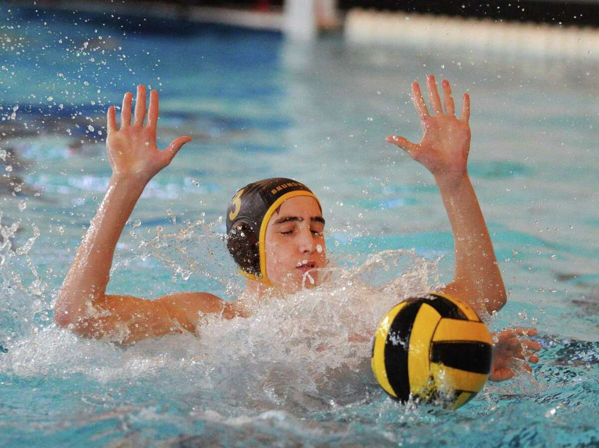 Brunswick water polo player Nico Apostolides earned First Team All-America honors.