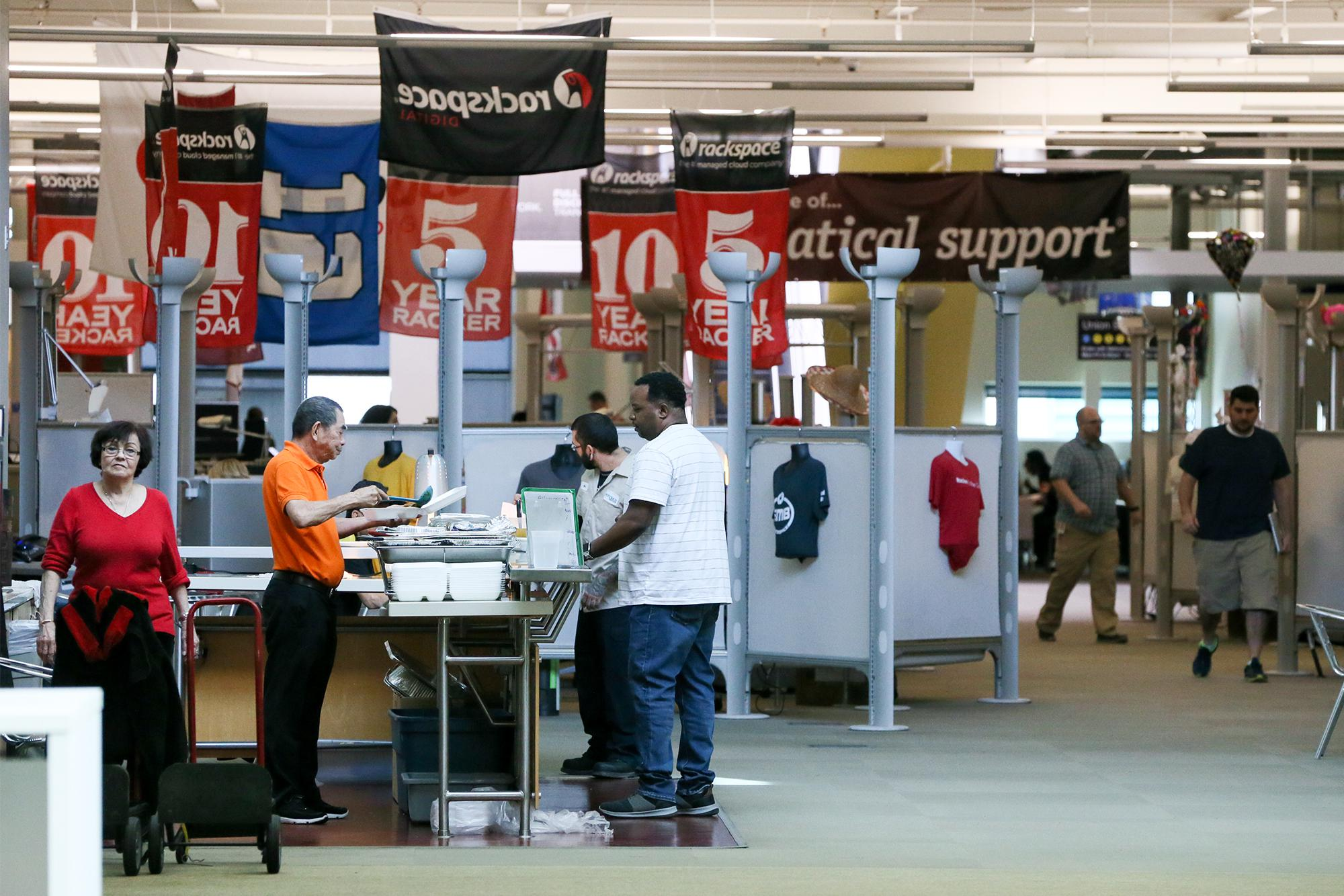 For the first time, Rackspace is subleasing space at its HQ