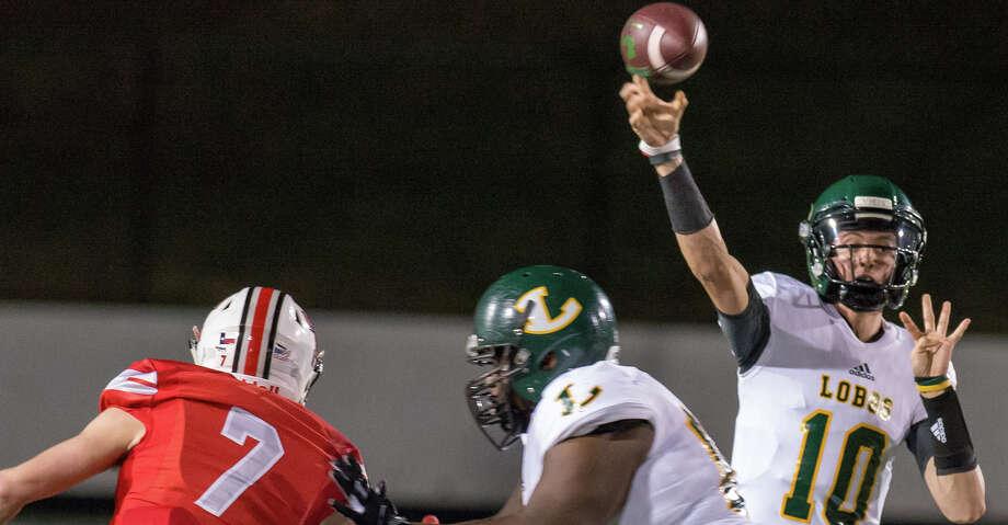 Longview quarterback Haynes King. Photo: Longview News-Journal/AP / © LONGVIEW NEWS-JOURNAL