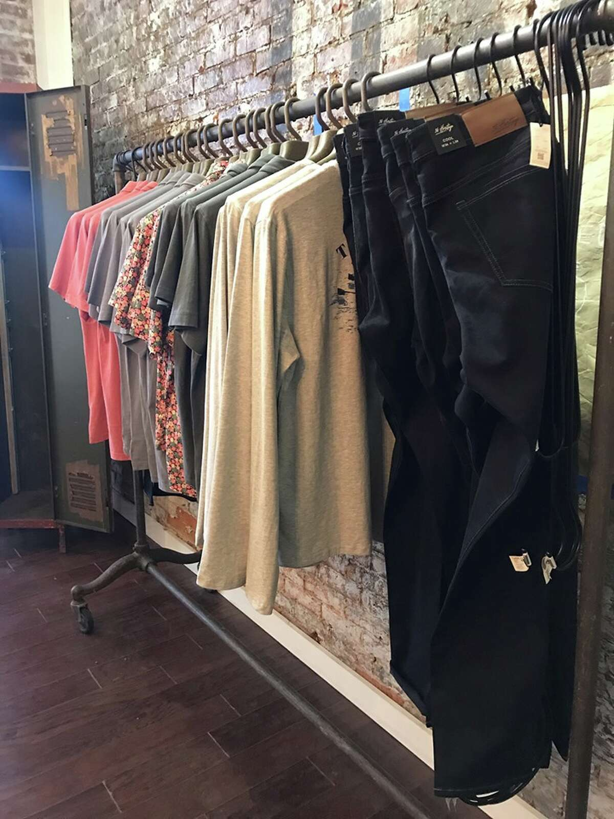 Union Hall Supply Co., a men's clothing store created by local entrepreneur Heidi West, will open on Thursday, July 19, at 437 Broadway in Saratoga Springs.