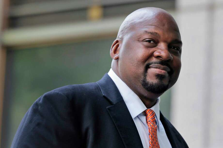 Former Auburn University assistant basketball coach Chuck Person arrives at federal court in New York for sentencing in a bribery scandal that has touched some of the biggest schools in college basketball, Wednesday, July 17, 2019. (AP Photo/Seth Wenig) Photo: Seth Wenig / Copyright 2019 The Associated Press. All rights reserved.