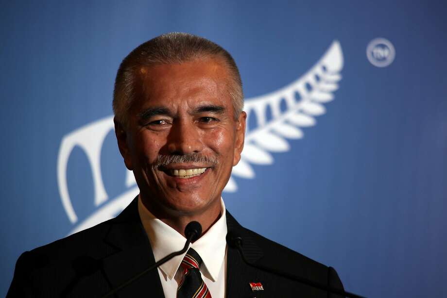 This file photo taken on September 7, 2011 shows then Kiribati President Anote Tong in Auckland. Photo: AFP;Afp / AFP / Getty Images