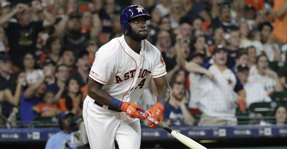 PHOTOS: Astros game-by-game Houston Astros' Yordan Alvarez bats against the Los Angeles Angels during the seventh inning of a baseball game Saturday, July 6, 2019, in Houston. (AP Photo/David J. Phillip) Browse through the photos to see how the Astros have fared in each game this season. Photo: David J. Phillip/Associated Press