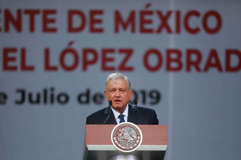 López Obrador Photo: Manuel Velasquez /Getty Images / 2019 Getty Images