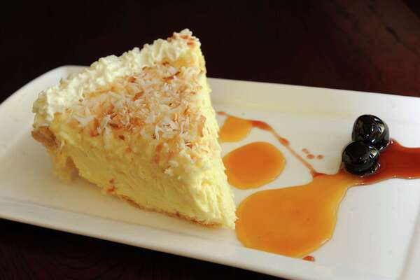 Danny's coconut cream pie at Osteria Danny on Wednesday March 30, 2016 in Saratoga Springs, N.Y. (Michael P. Farrell/Times Union)