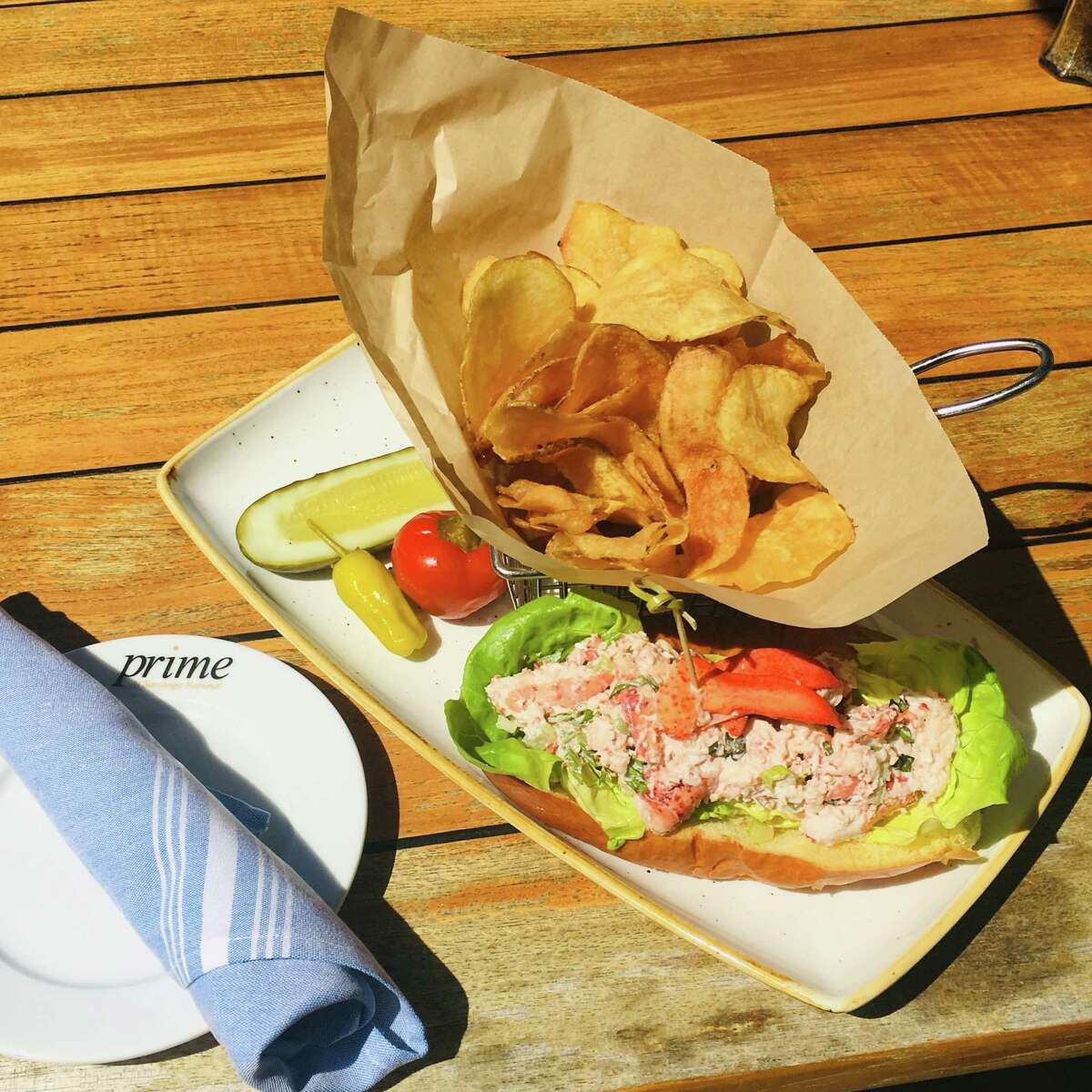 The lobster roll from Prime at the Saratoga National Golf Club. (Provided, Saratoga National)