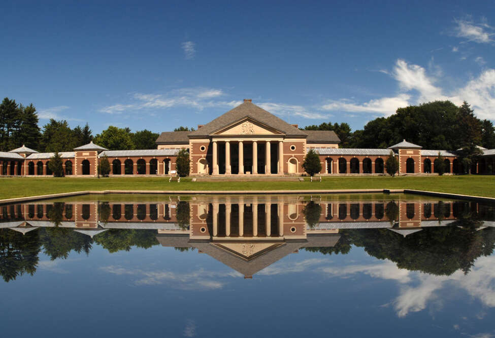 The Reflecting Pool at the Saratoga Spa State Park. (Provided photo.)