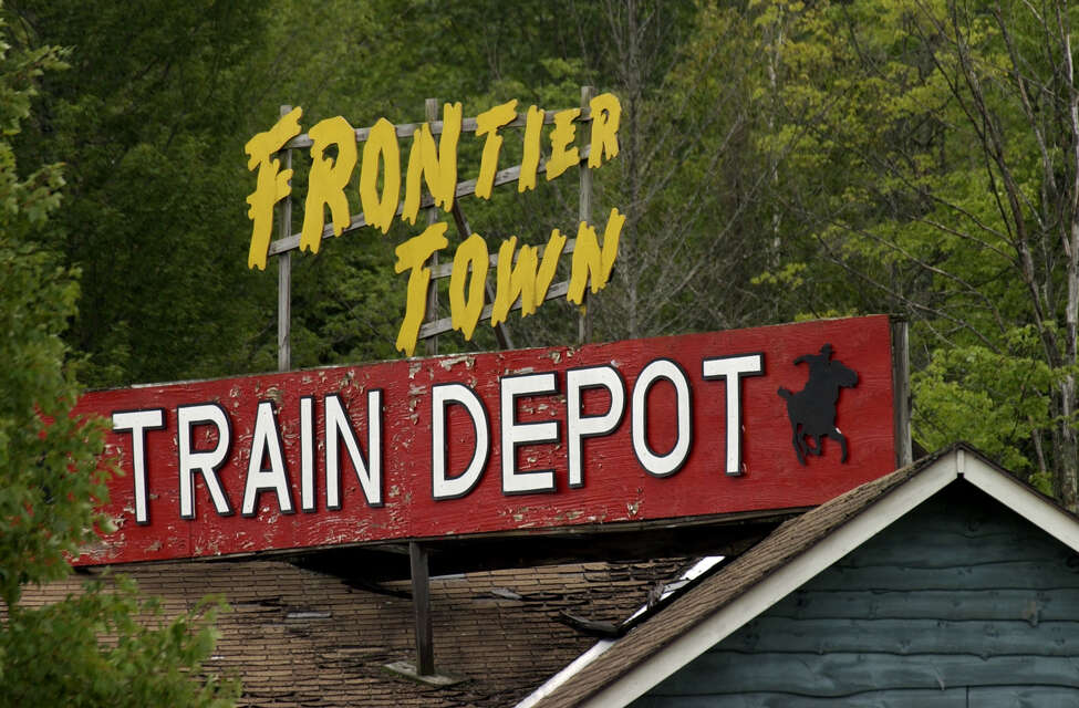 A view of the Frontier Town train depot Tuesday, Aug. 12, 2003, in North Hudson, N.Y. (Paul Buckowski/Times Union)