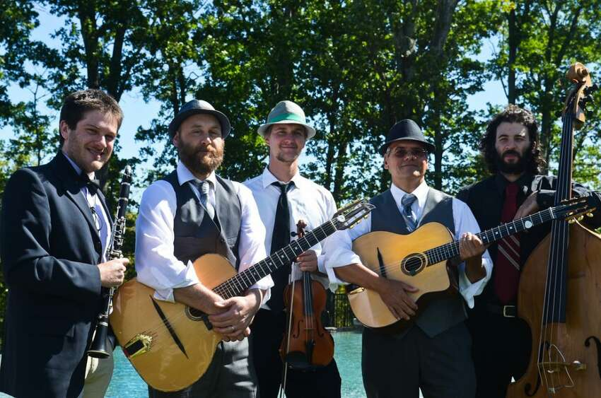 Hot Club of Saratoga will perform at noon at Salt & Char in Saratoga Springs.
