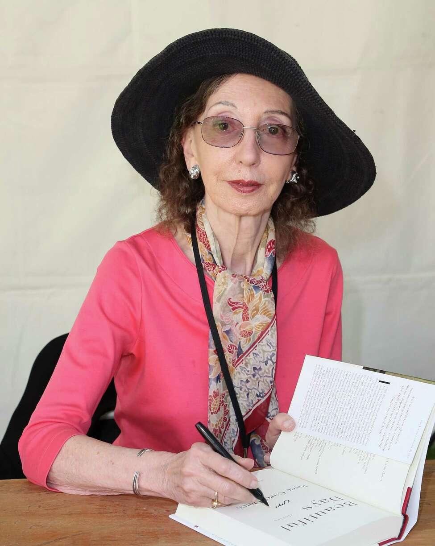 Writer Joyce Carol Oates