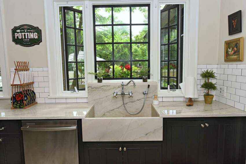 Kitchen in the home of Charlene Wood and James Paratore on Friday, June 14, 2019 in Saratoga Springs, N.Y. (Lori Van Buren/Times Union)