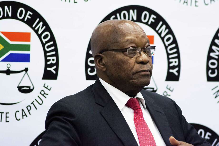 Jacob Zuma, former South African president, prepares to testify in the state capture inquiry in Johannesburg, South Africa on July 15, 2019. Photo: Bloomberg Photo By Waldo Swiegers. / © 2019 Bloomberg Finance LP