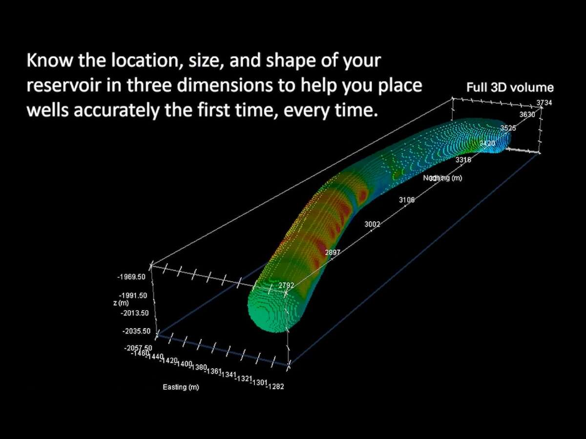 Houston oilfield service company Halliburton has gone 3D with new technology that enables geologists to analyze a formation's properties while drilling.