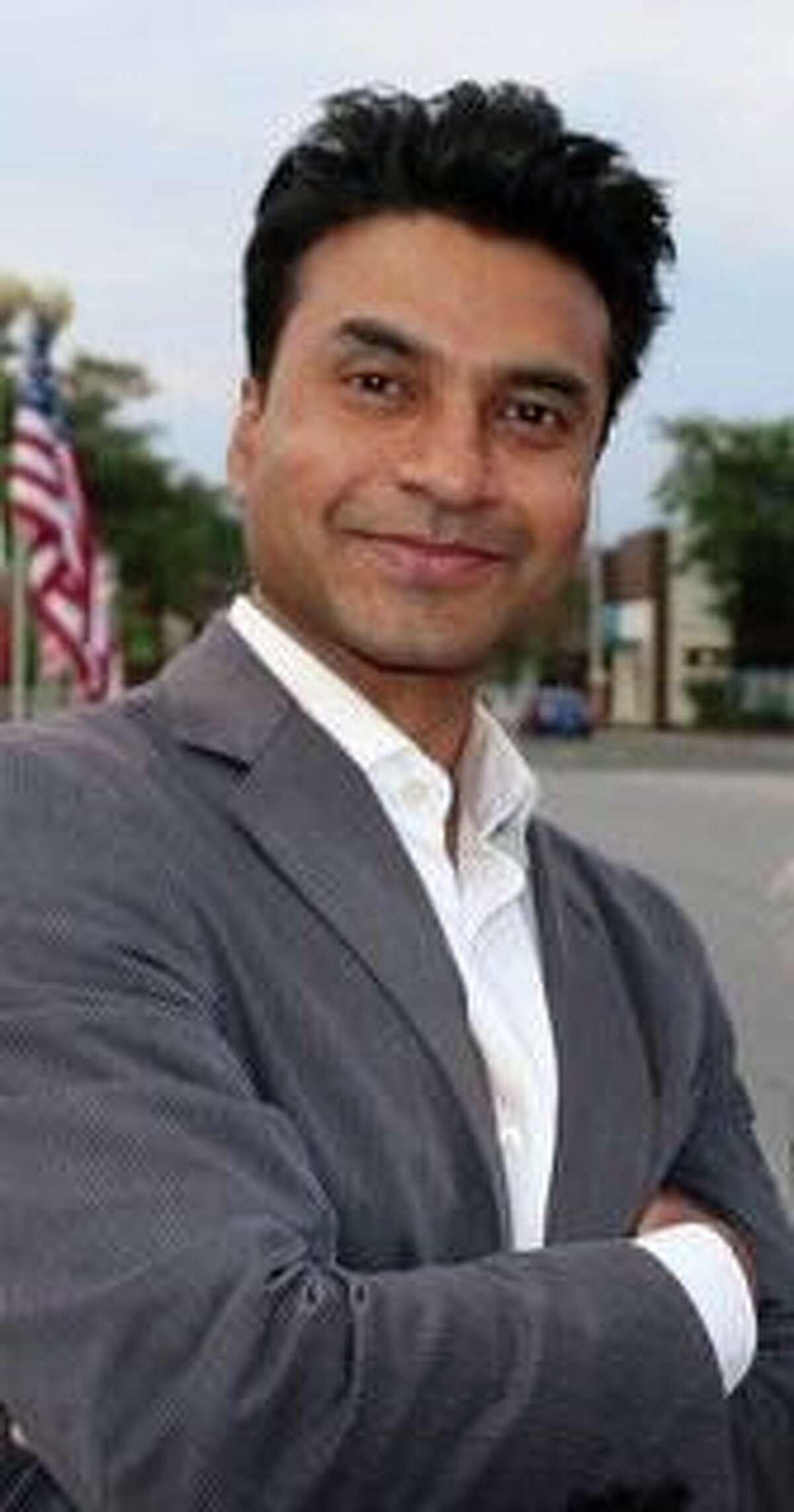 Republican BOE candidate Vik Muktavaram.