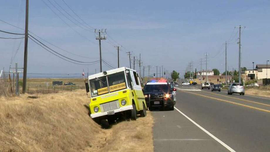 A suspect stole an Ice Cream truck and another vehicle in Sacramento County on Wednesday. Photo: KCRA