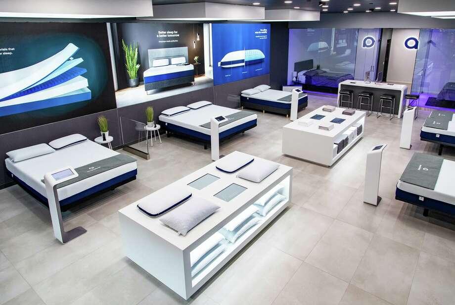 Amerisleep has opened a 2,000-square-foot showroom in The Galleria. Photo: Amerisleep