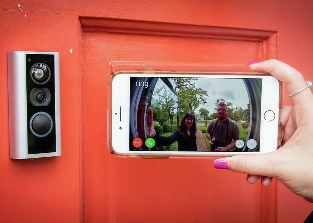 Download the Ring app to configure your camera, including getting it online, giving it a name and selecting settings for motion detection and more.