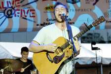 An estimated 4000 concert goers attend the finale of the Alive@Five summer concert series to see Phillip Phillips performance at Columbus Park on Thursday, August 10, 2017 in Stamford, Connecticut.
