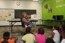 State Rep. Monica Bristow, D-Alton, visited the Alton Boys and Girls Club Tuesday, July 16, to read to youth enrolled in the club's program, meet and tour with staff and learn more about the club's work. State Rep. Monica Bristow, D-Alton, visited the Alton Boys and Girls Club on Tuesday to read to local youth currently enrolled in the Club's program, to meet and tour with staff, and to learn more about the club's work.