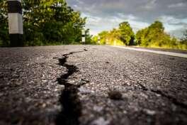 roads cracked