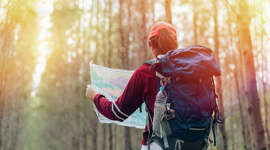 Even the most experienced hikers can get lost. Here's a step-by-step instructional of what to do if you can't find your way